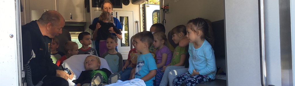 Madison Fire Districts Visits Pre-K